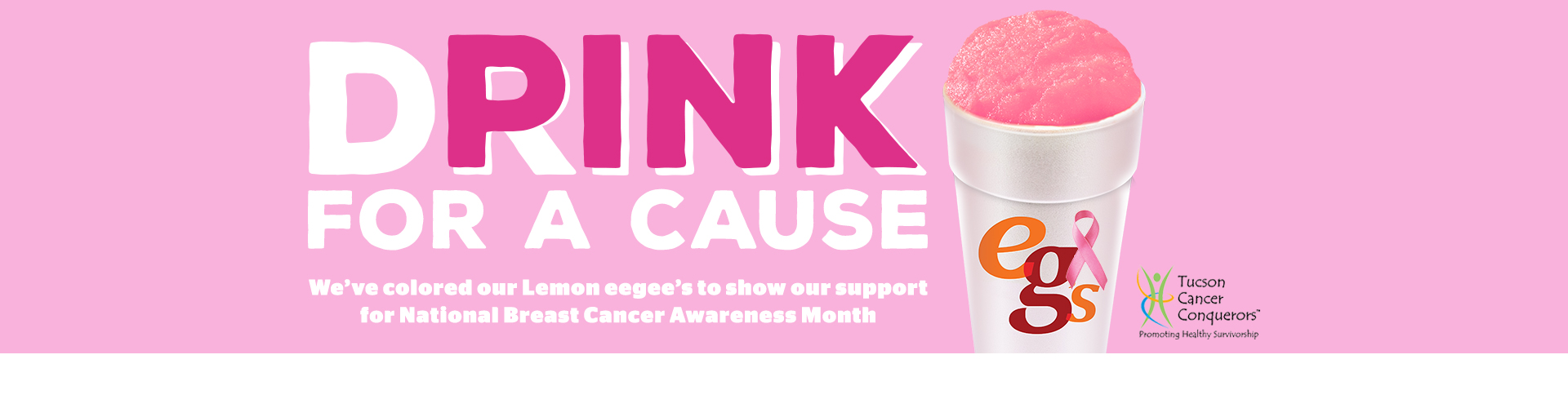 Drink Pink for a Cause