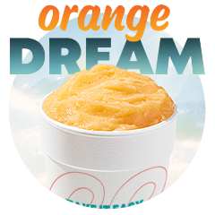 Orange Dream eegee - May Flavor of the Month